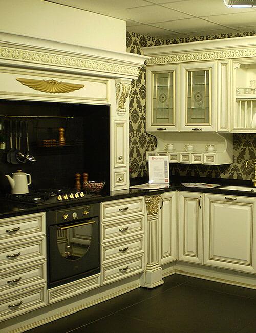 Кухня Ника Д'Оро белая