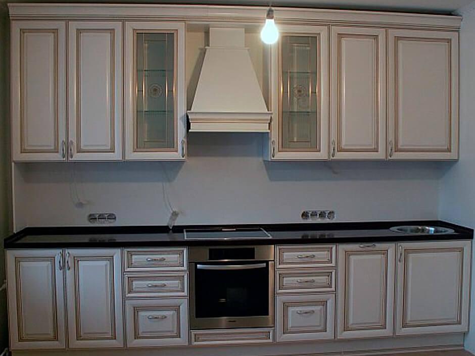 Кухня Ника ДОро белая