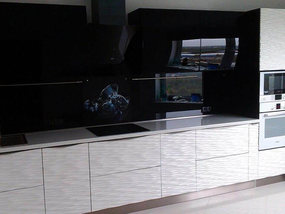 Кухня Даурия с 3d фасадами