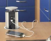 Монтаж электрических розеток на кухне