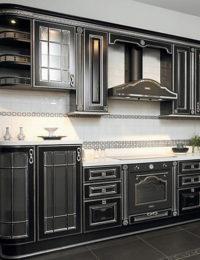 Кухня Афина Черная