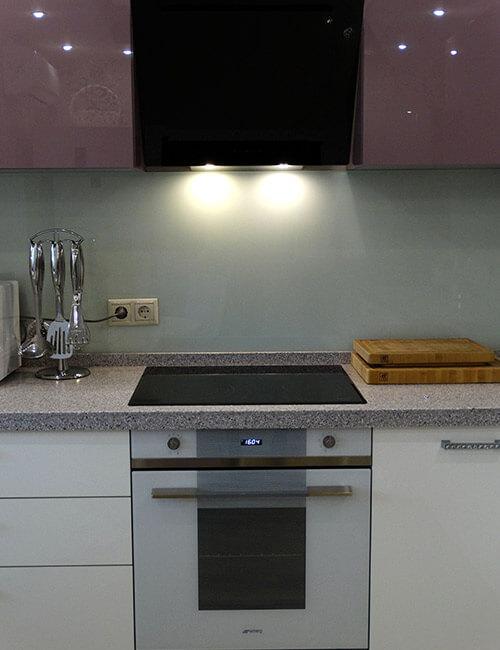 Кухня Акрилайн Лаванда