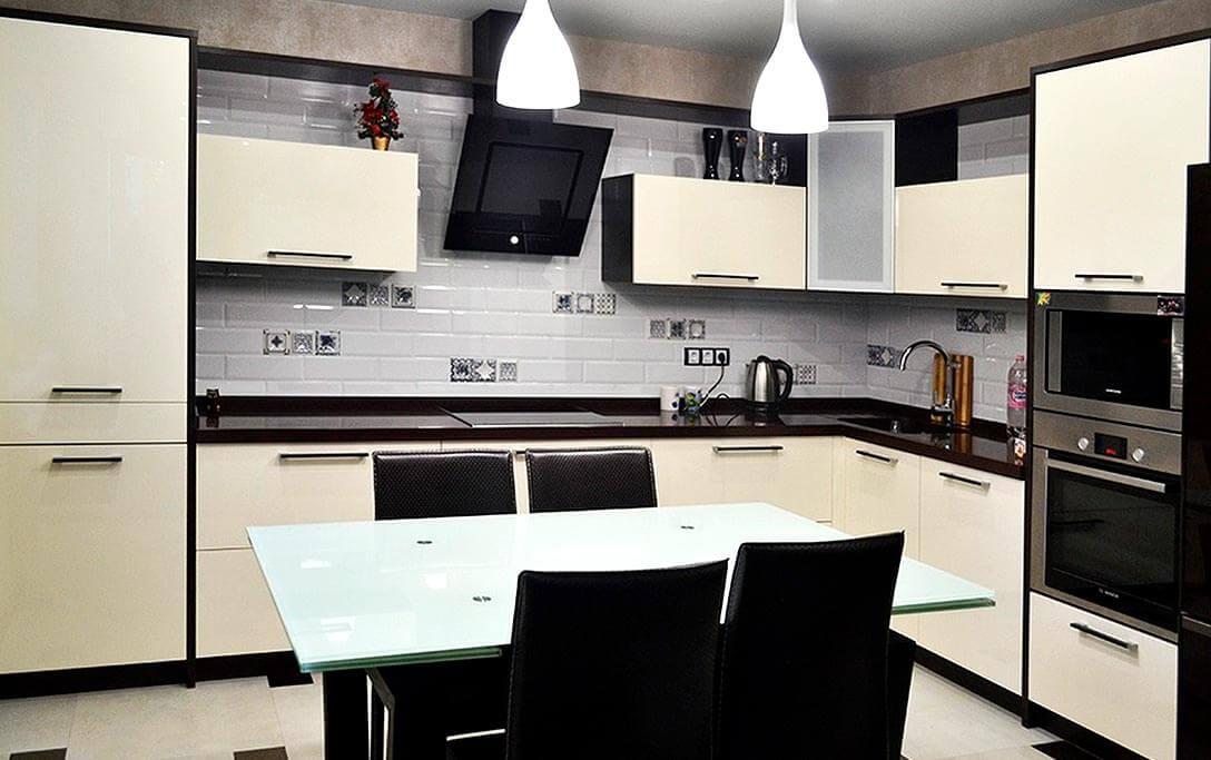 Отличная Кухня Амальфи Бежевая
