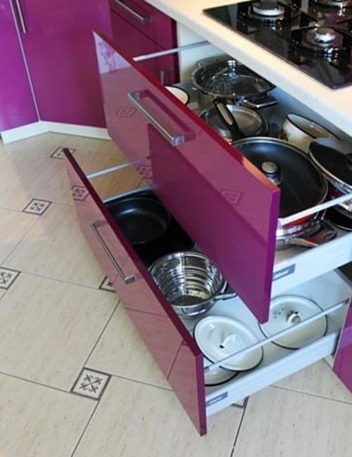 Кухня эконом класса Арпа Фиалка