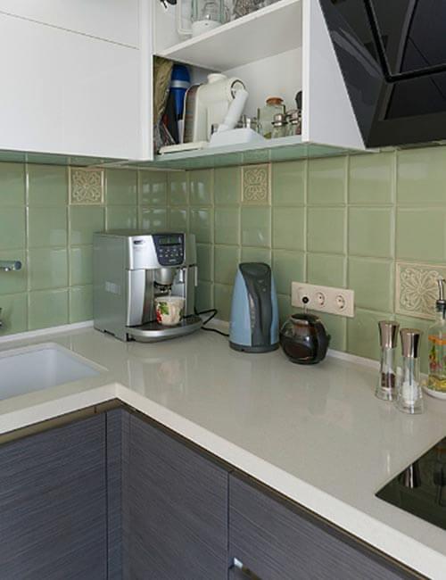 Кухня Шпон Эмаль