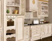 Кухня Лукреция цвет Слоновая кость