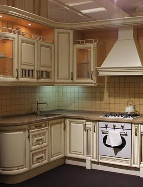 Кухня НИКА ДОРО бежевая