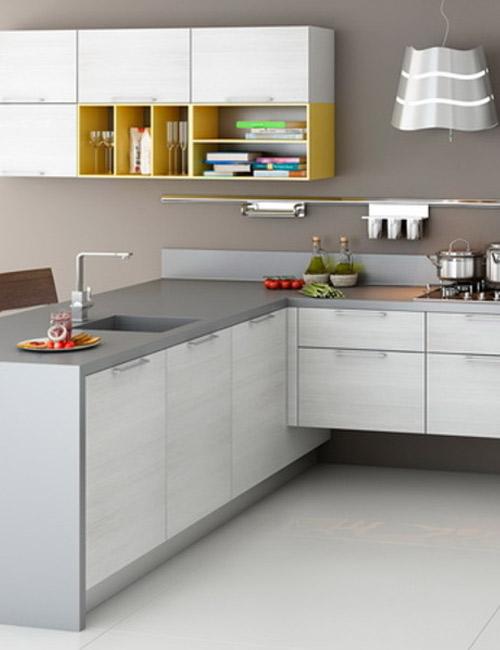 кухни с фасадами из пластика9