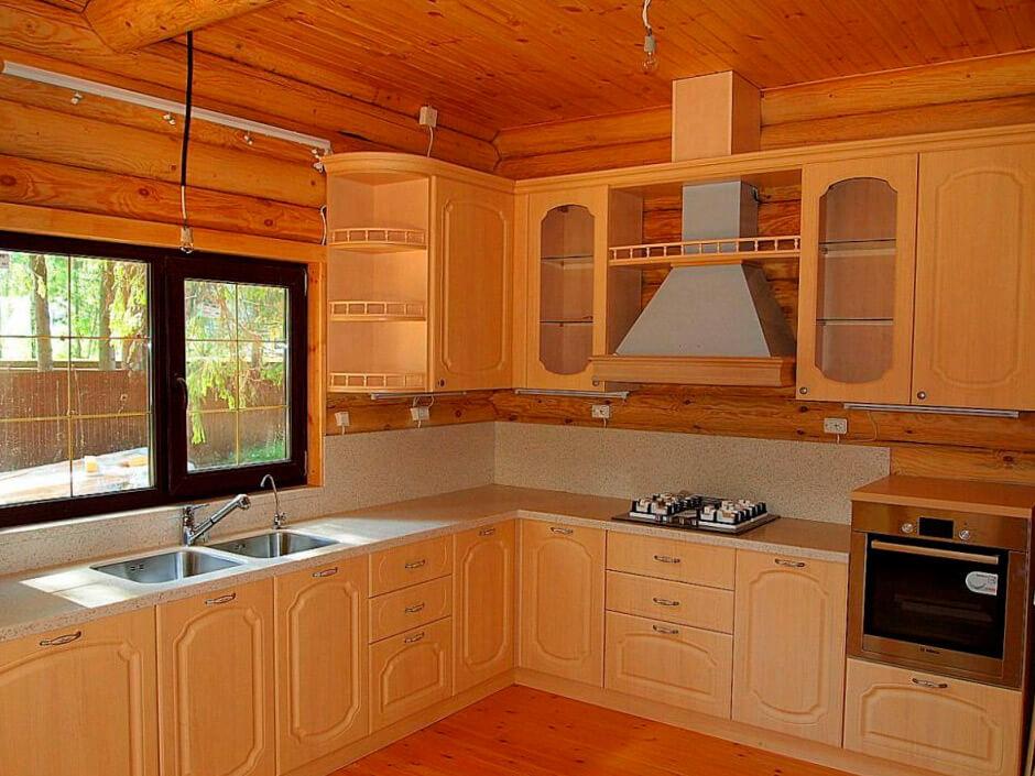 Кухня с фасадом Сидак