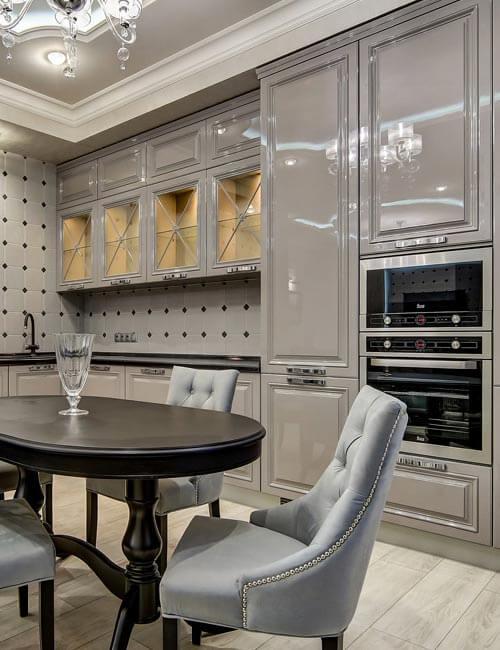 Кухня Вивальди Серая