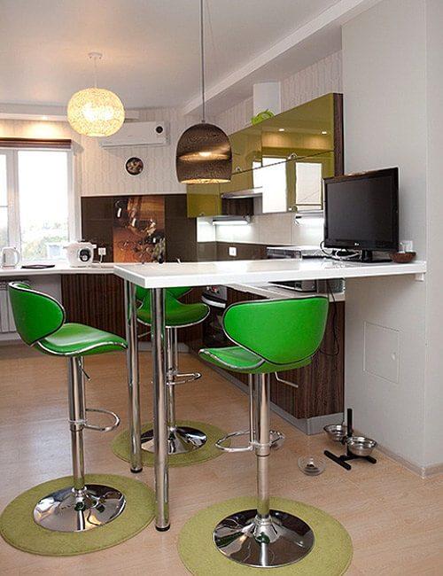 Кухня Акрилайн Олива