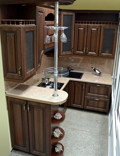 кухня Астория ВХЦ Рябина бронзовая