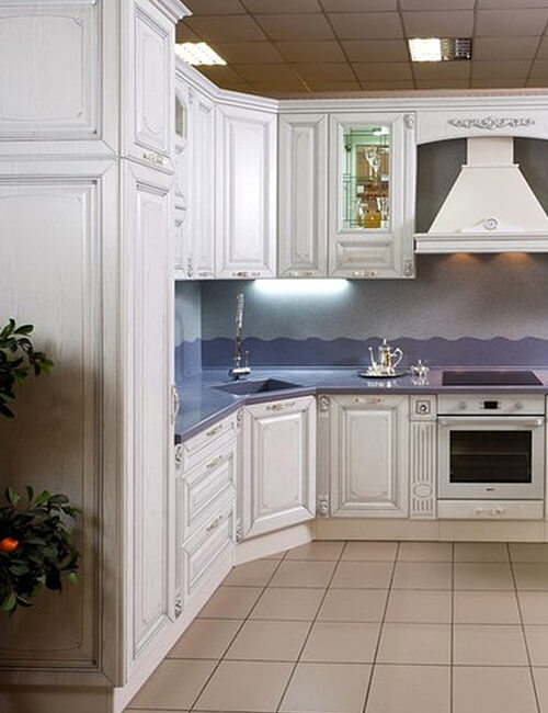 Кухня Элегия ВХЦ Белая